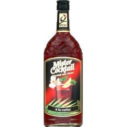 Cocktail sans alcool gout cerise MISTER COCKTAIL, 75cl