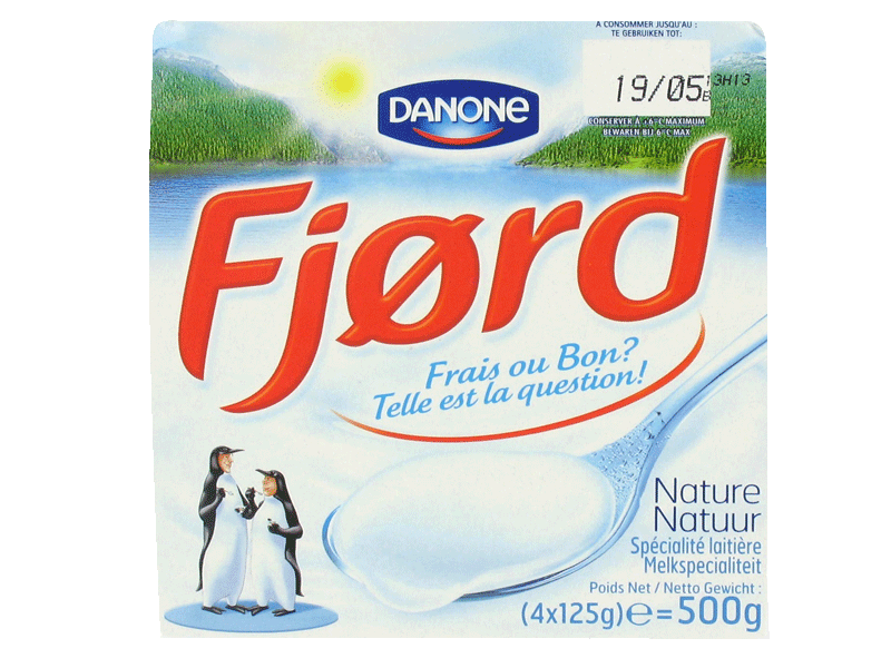 Fjord - Fromage frais nature
