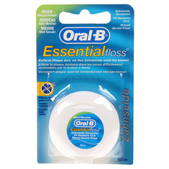Fil dentaire Oral-B Essential floss menthole