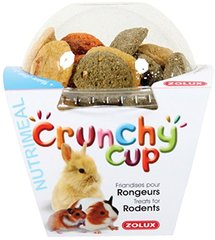 Zolux : Friandise Rongeur Crunchy Cup 3 Mix