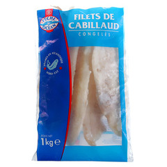 Filet de cabillaud Peche Ocean 200/400 1kg