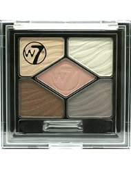 w7 Silky Eye Shadow Get Naked Palette Maquillage de 5 Nuances de Beiges Nude 45 g