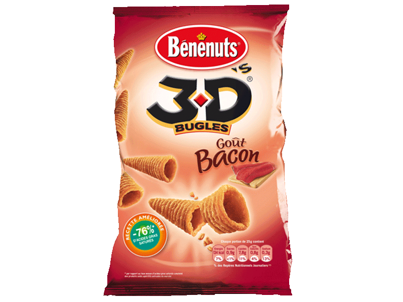 3 D's Bugles - gout bacon