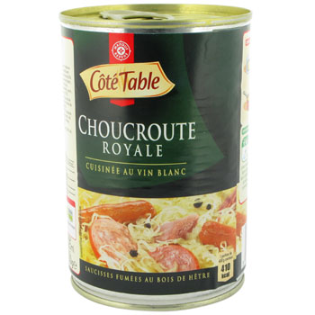 Choucroute Royale Cote Table 400g