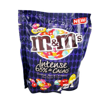 Dragees M&M's cacahuetes Intense 255g