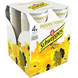 SCHWEPPES Indian Tonic canettes slim 4x25cl