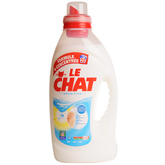 Lessive liquide sensitive Le Chat flacon 2x1,875L 50lav.ff