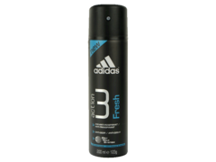 Déodorant Adidas Action3 Fresh for Men Dry Max System, 200ml
