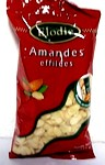 Amande effilee, Le sachet 125G