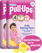 Culottes Pull-ups Fille - Taille 4/5 : 8-15kg
