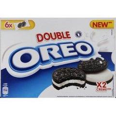 OREO Pocket double creme, 6 sachets, 170g