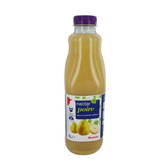 Nectar de poire Teneur en fruit 50% minimum