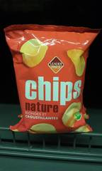 Chips nature blondes et croustillantes 6x30g