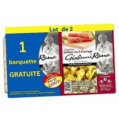 Pates fraiches Giovanni Rana Cappellettis jbon/from 250g