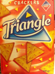 Crackers triangle 100g