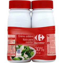 Creme entiere UHT 30% MG