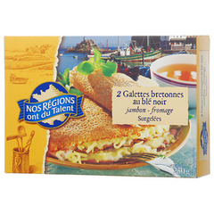 Galettes jambon fromage Nos Regions ont du Talent 250g