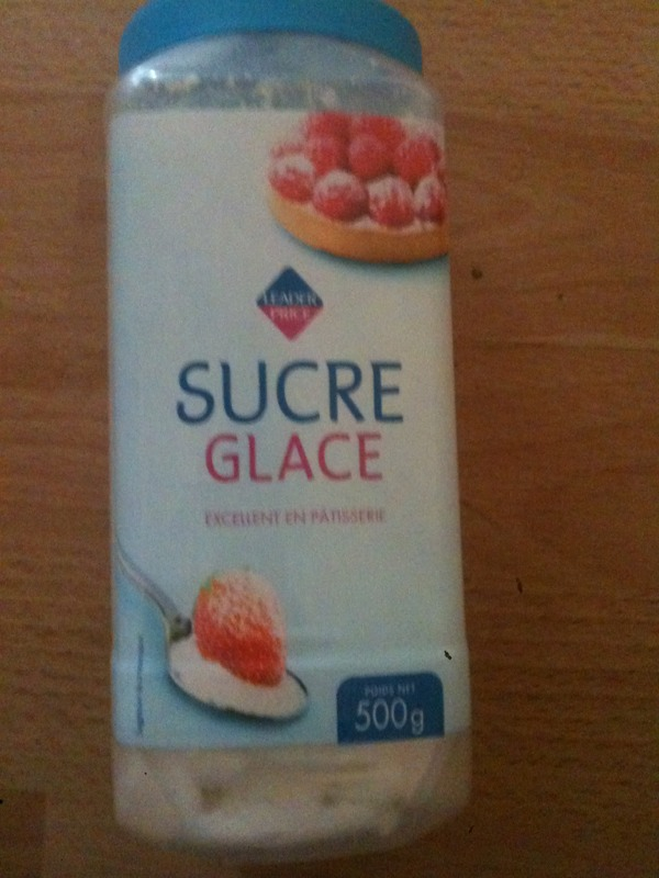 Sucre glace 500g