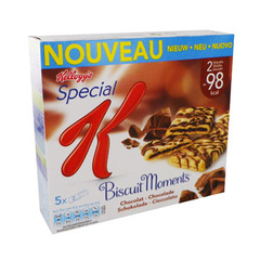 Spécial K biscuit moments chocolat