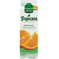 Tropicana Pure Premium originale Orange Juicy Bits 1 Litre (pack de 6 x 1ltr)