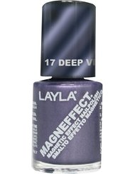 Layla Cosmetics Milano Vernis à Ongles Magneffect Deep Violet 10 ml