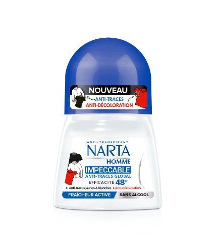 Narta dodorant homme bille impccable 50ml