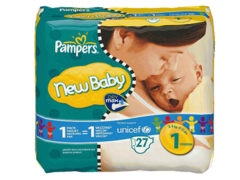 Pampers New Baby new born x27 taille 1