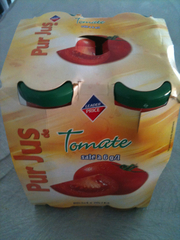 Pur jus tomate 4x20cl