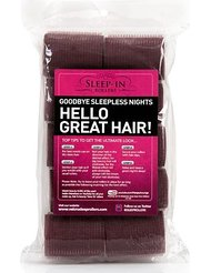 Sleep-In Rollers Extra Pack of 10 Rollers Brunette