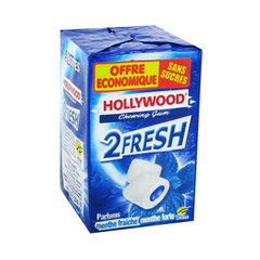 Hollywood 2 fresh dragees menthe fraiche forte 3x70g