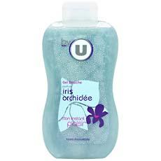 Gel douche iris et orchidee BY U, flacon de 250ml