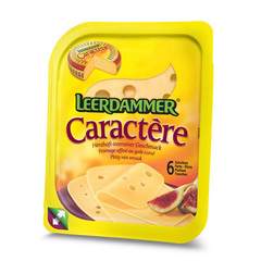 Fromage au lait pasteurise LEERDAMMER Caractere, 31,5%MG, 150g