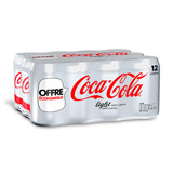 coca cola light 12x33cl offre eco