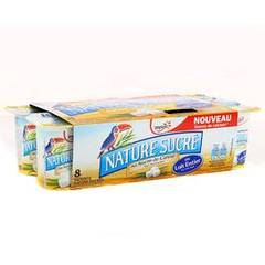 YOPLAIT NATURE SUCRE 125GX8