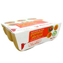 Auchan compote pomme abricot 4x100g