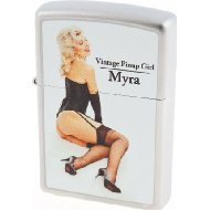 Zippo 2.002.957 Collection 2012 - Limited Edition 001/500 - 500/500 Cigarette Lighter Vintage Pin Up Girl Myra...