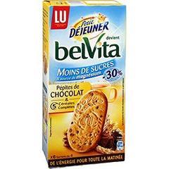 Biscuits all g s en sucre c r ales et p pites de chocolat petit d jeuner lu 300g - Carbonate de sodium danger ...