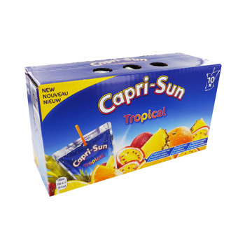 Boisson aux fruits Capri Sun Tropical 10x20cl