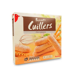 Auchan biscuits cuillers x36 -300g