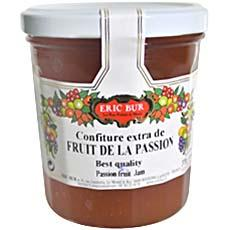 Confiture extra de fruits de la passion ERIC BUR, 370g