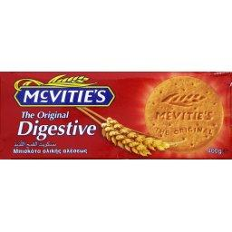 Mc Vitie's, The original digestive, biscuits sables, le paquet,400g
