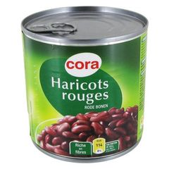 Cora haricots rouges 1/2 265g
