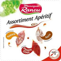 Monique Ranou, Assortiment Aperitif, la barquette de 130g
