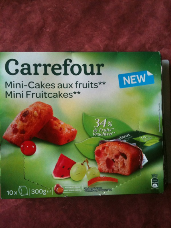 Mini-cakes aux fruits