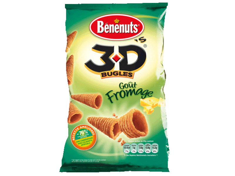 3 D's Bugles - gout fromage
