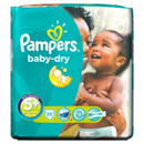 Pampers baby dry midpack x25 taille 5 +