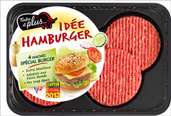 Tendre et plus idee hamburger 15mg x4 -320g