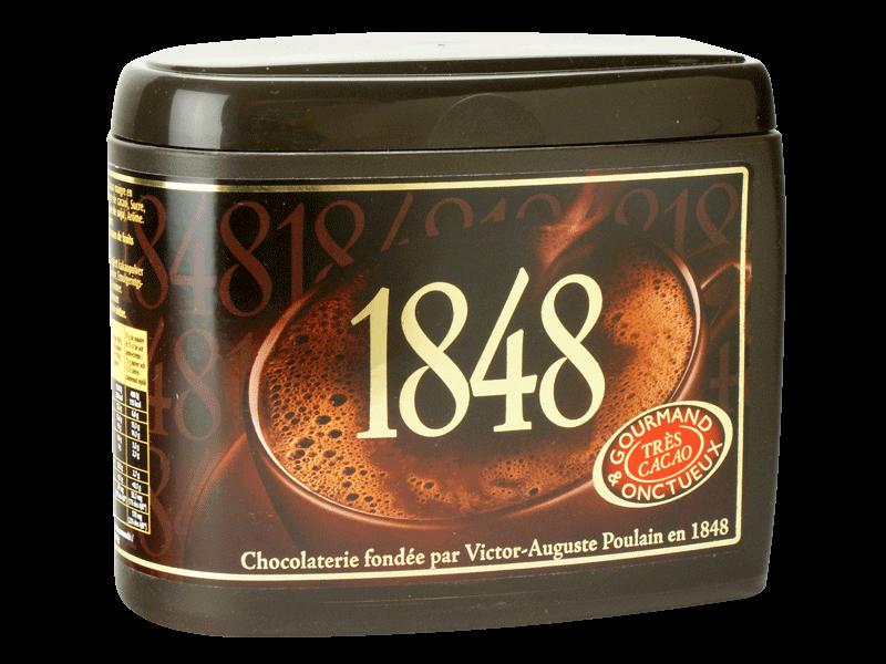 1848 chocolat en poudre 450g tous les produits caf s solubles chicor es prixing. Black Bedroom Furniture Sets. Home Design Ideas