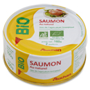 Auchan bio saumon au naturel 100g