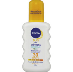 Nivea Sun Spray Protect and Sensitive FPS30 - 200 ml